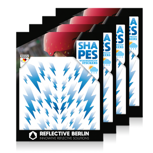 Reflective SHAPES Pack of 4, Blitze, himmel
