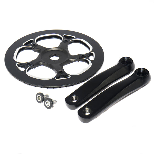 Standard Pedal Arms / Crank Set with Chainring 52T for UNI Moke V5