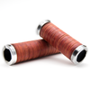 Luxury Leather Handlebar Grips Mellow Classic