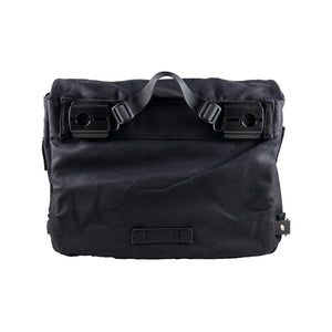 Pannier Bag black Deattachable Fabric Backside