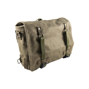Pannier Bag Olive Deattachable Fabric Side Bag