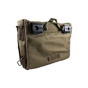 Pannier Bag Olive Deattachable Fabric