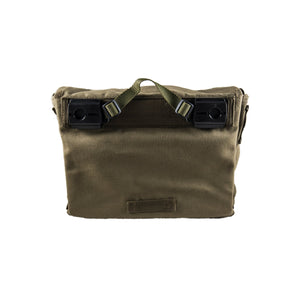 Pannier Bag Olive Deattachable Fabric Backside