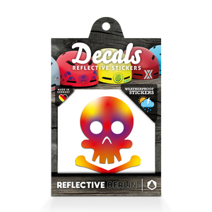 Reflective DECAL - Skull