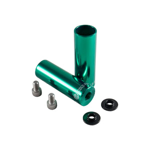 Salt AM BMX Pegs Forged Metal Green