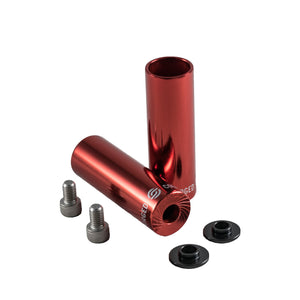 Salt AM BMX Pegs Forged Metal Red