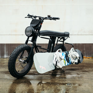 Snowboard Surfboard SUP Carrier Uni Moke Electric Bicycle