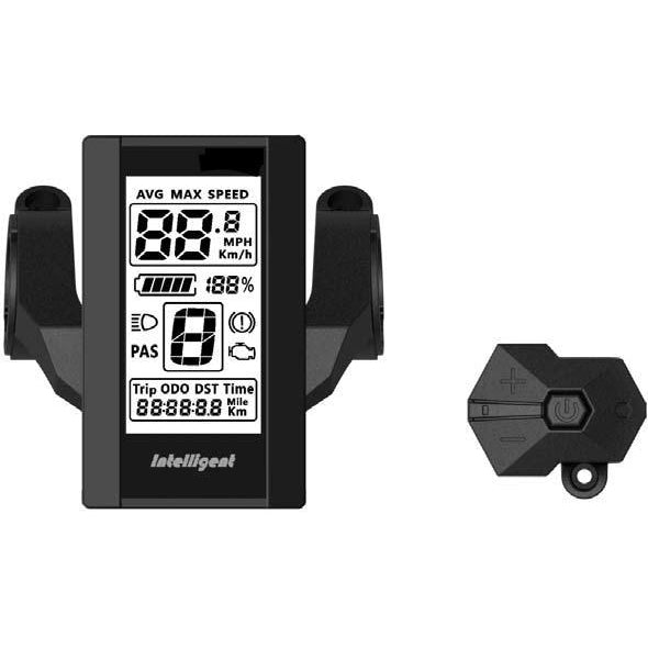 LCD Display with Control Unit Intelligent 800S for Electric Bikes