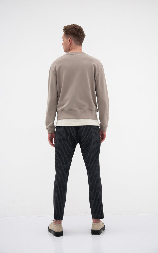 The Piccadilly Sweat | Olive Green