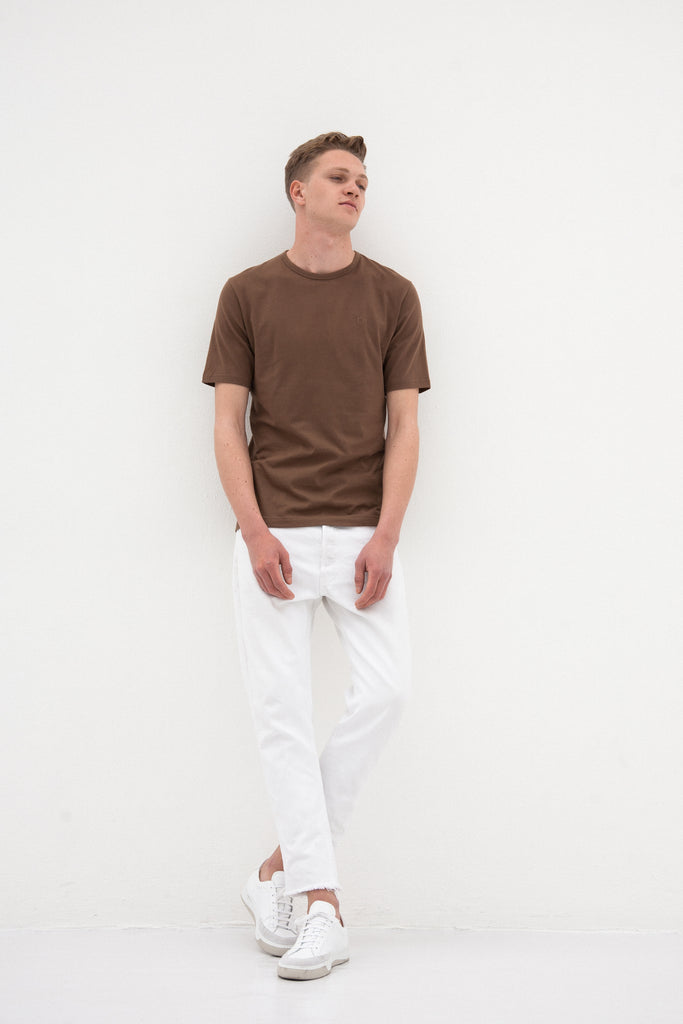 The Element Tee | Oak Brown