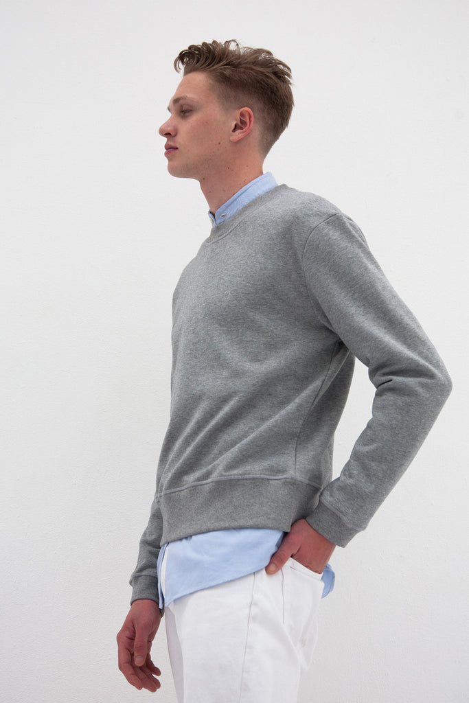 The Piccadilly Sweat | Grey Melange