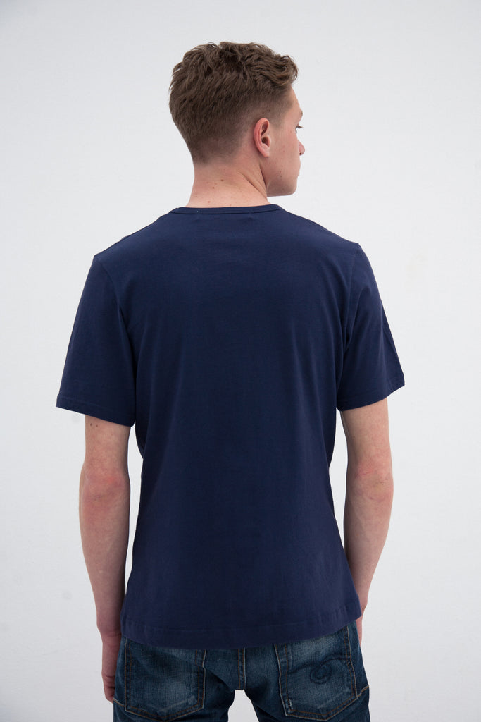 The Element Tee | Marine Blue