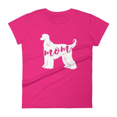 Afghan Mom - Women's Short Sleeve T-Shirt Hot Pink / S