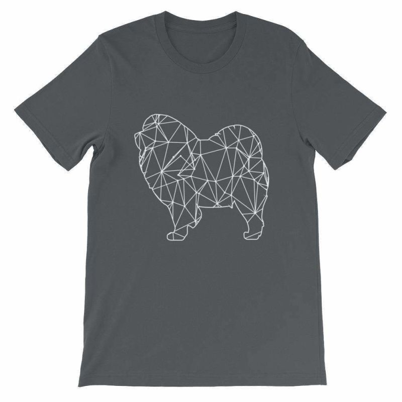 Chow Geometric Design - Unisex Short Sleeve T-Shirt Asphalt / S
