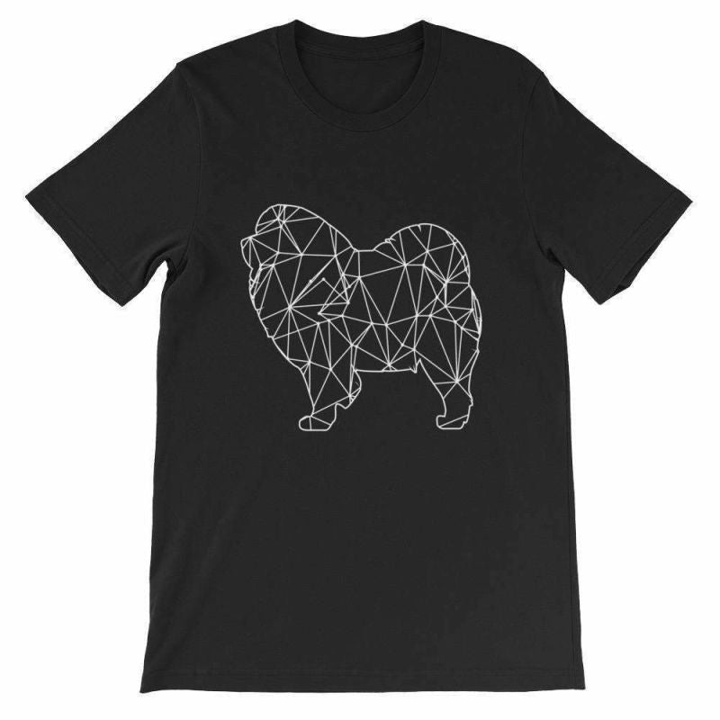 Chow Geometric Design - Unisex Short Sleeve T-Shirt Black / S