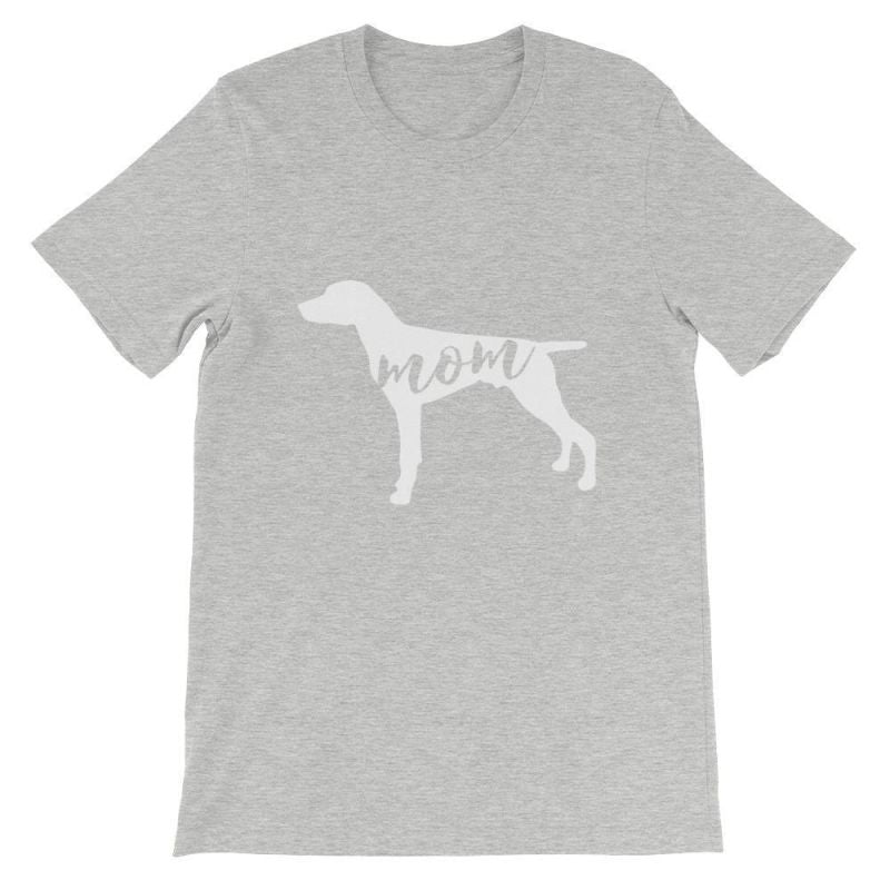 German Short Haired Pointer Mom - Unisex Sleeve T-Shirt Athletic Heather / S