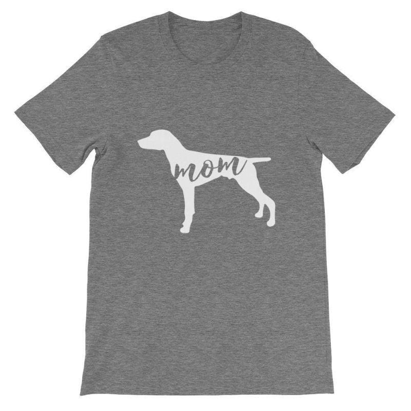 German Short Haired Pointer Mom - Unisex Sleeve T-Shirt Deep Heather / S