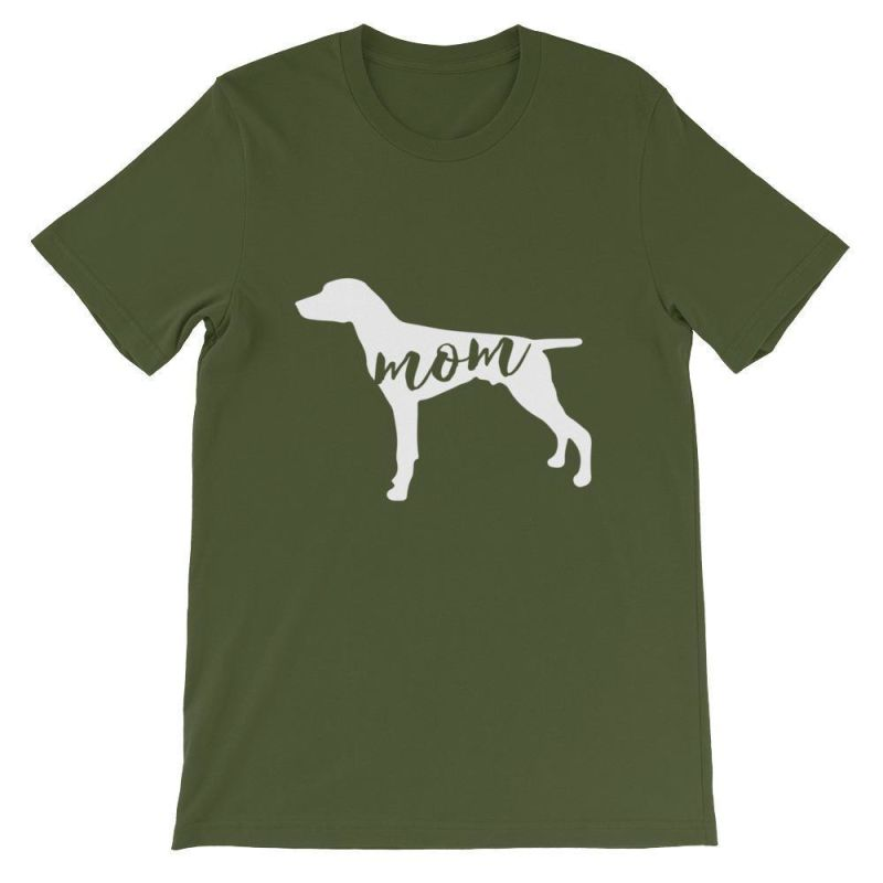 German Short Haired Pointer Mom - Unisex Sleeve T-Shirt Olive / S