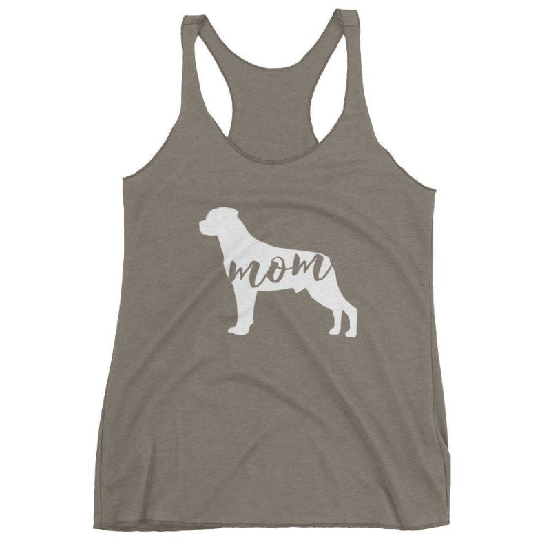 Rottweiler Mom - Womens Tank Top Venetian Grey / Xs