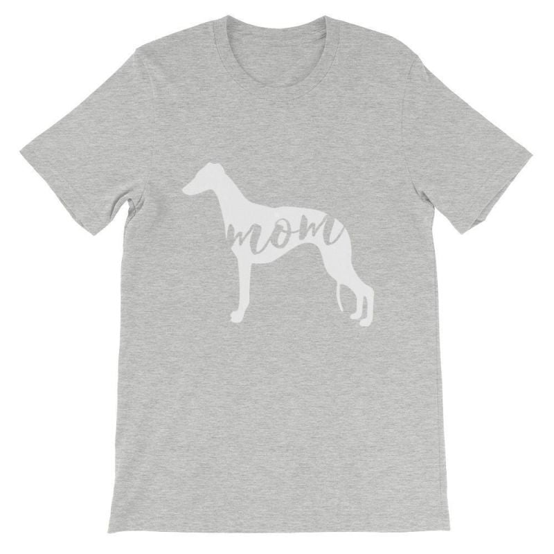 Whippet Mom - Unisex Short Sleeve T-Shirt Athletic Heather / S