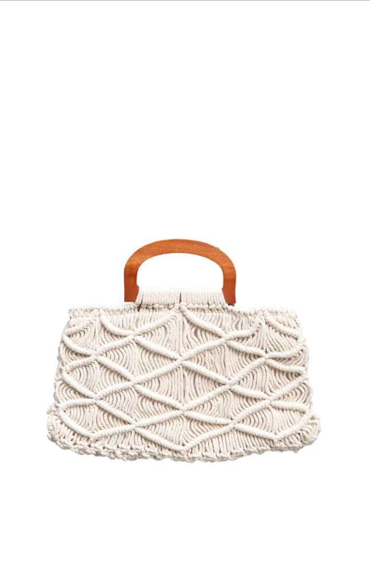 Ruby Macrame Bag