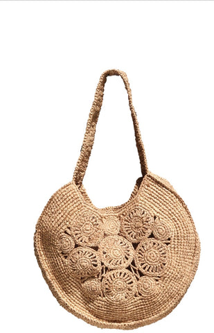 Faith Macrame Bag