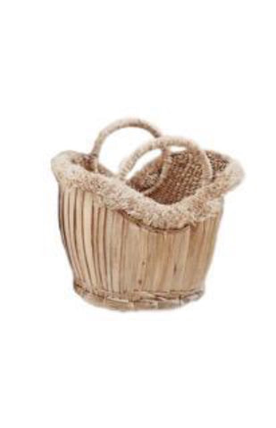 Tulum Cane Basket Bag