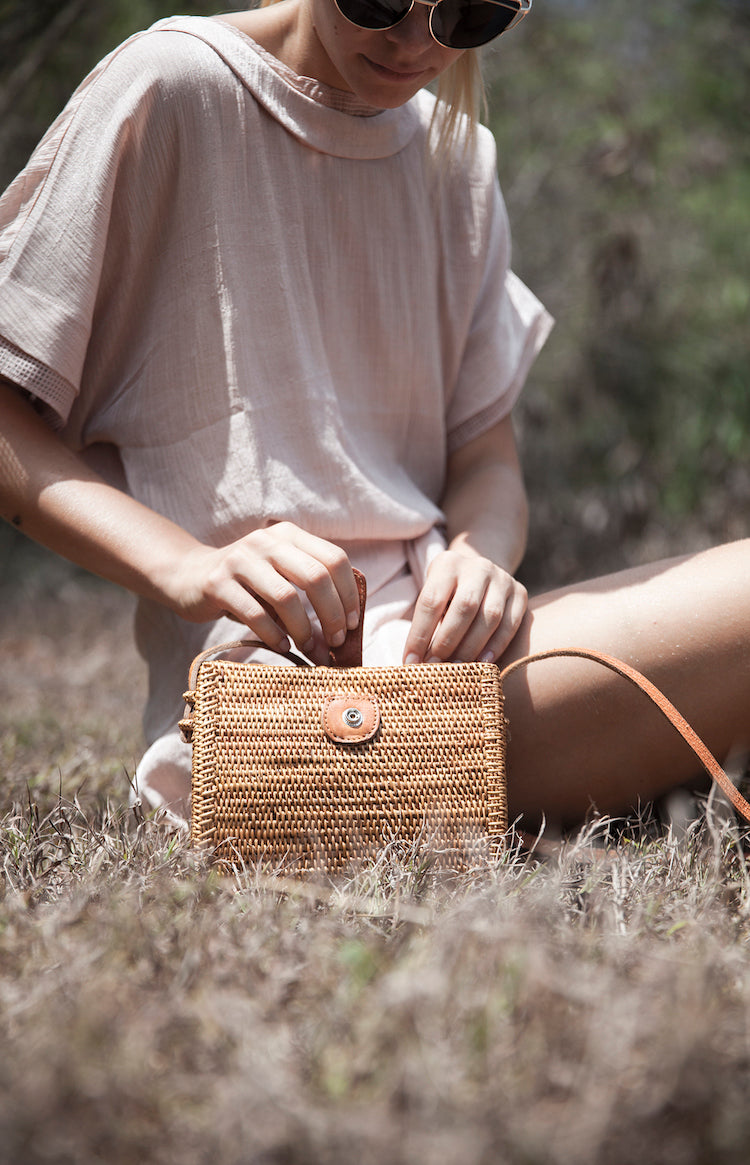 Shell  Basket Bag