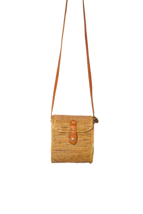 Mallee Tan Basket Bag