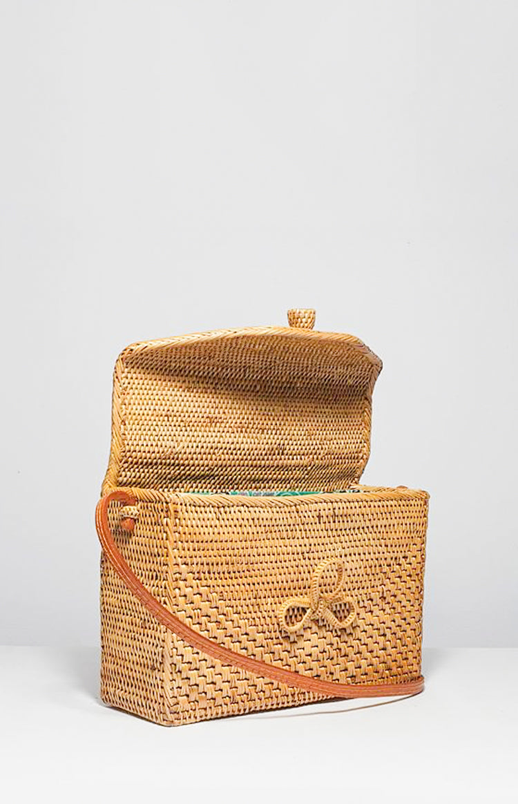 Rectangle Basket Bag