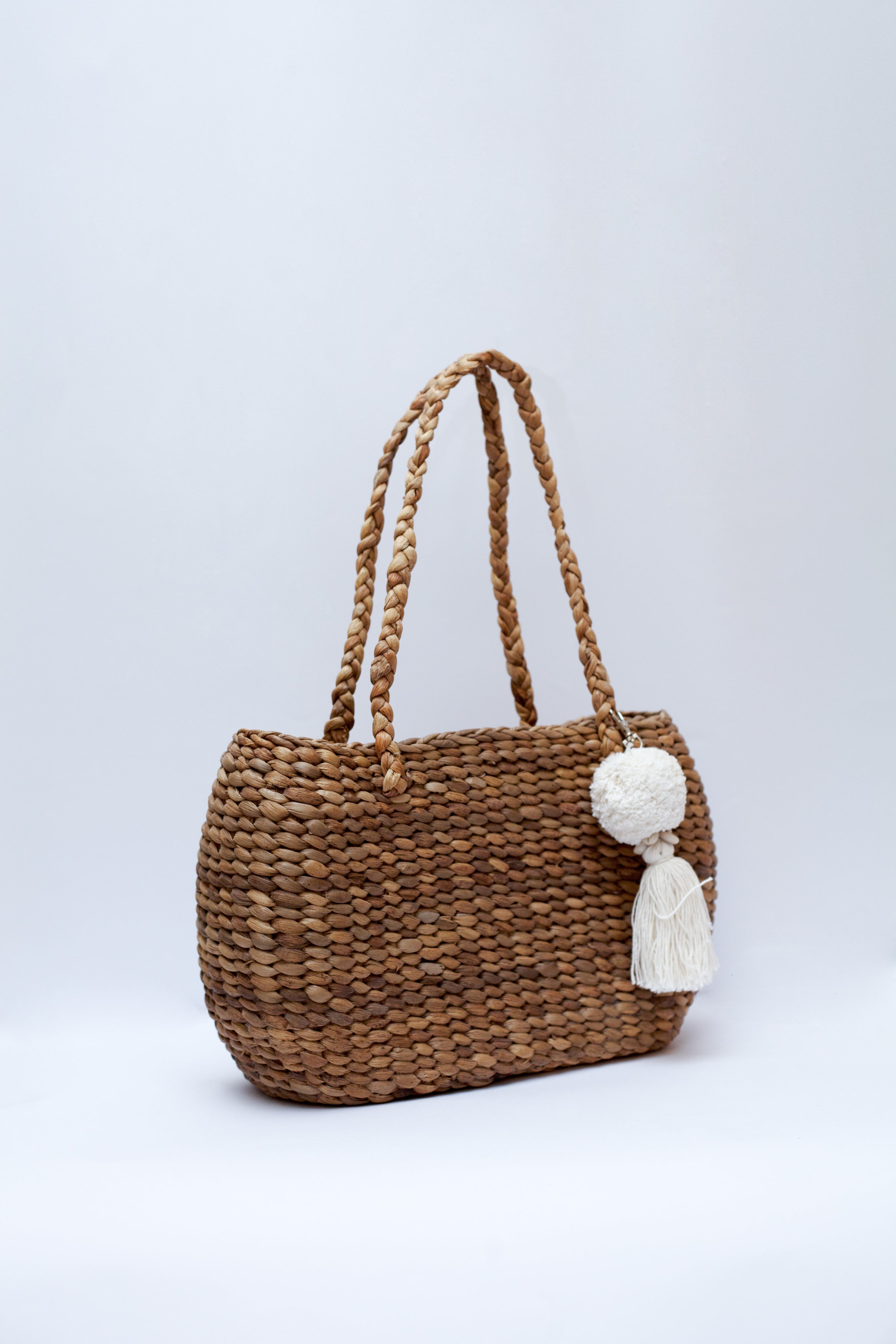 Noosa Small Palm Basket Bag