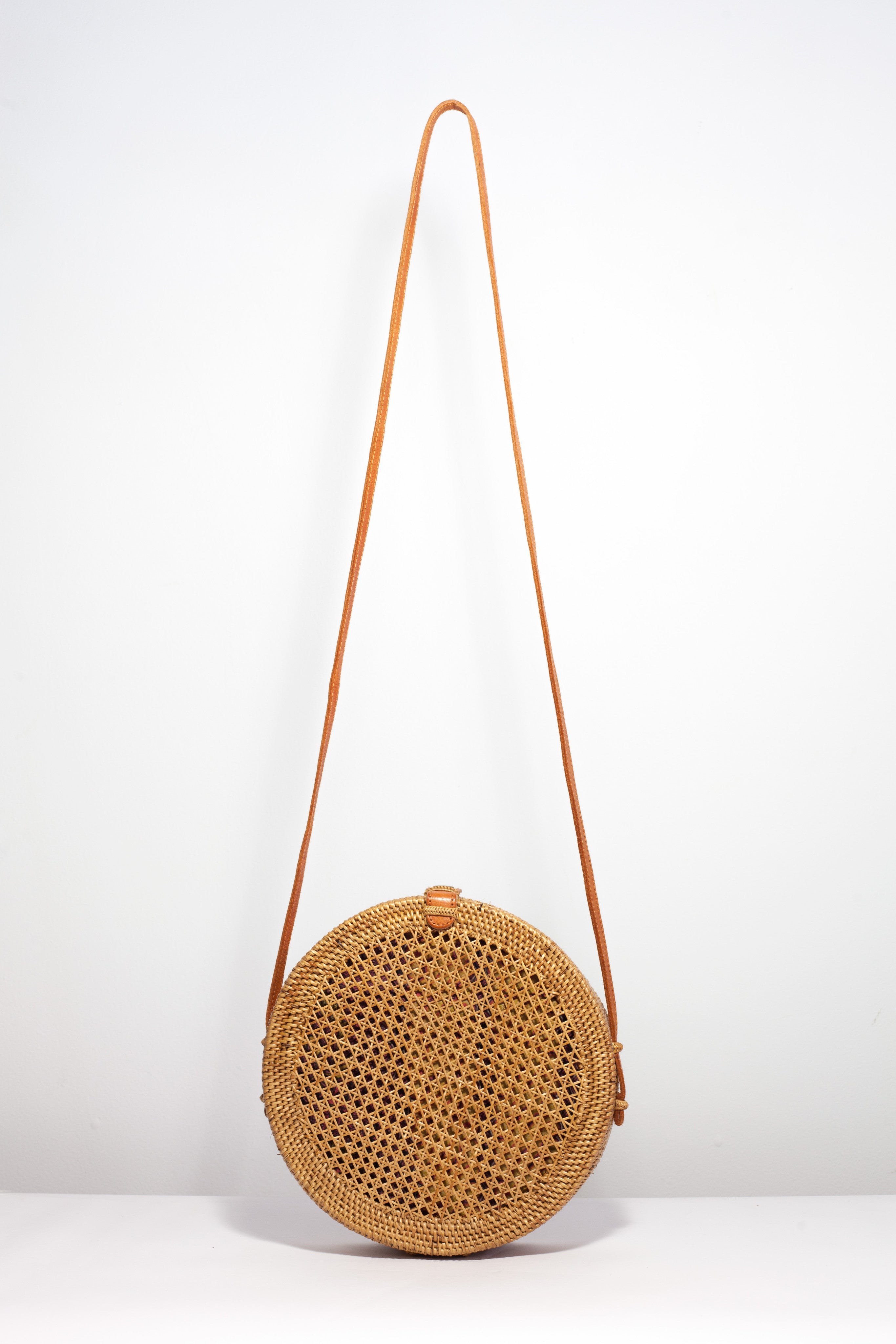 Round Net Basket Bag