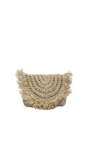 Rectangle Black Basket Bag