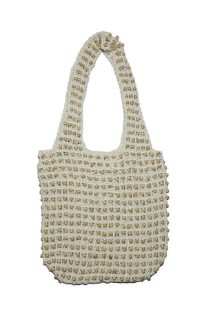 Camila Raffia Backpack