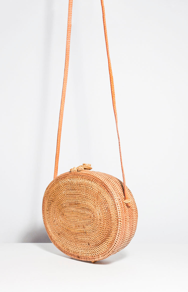 Oval Basket Bag