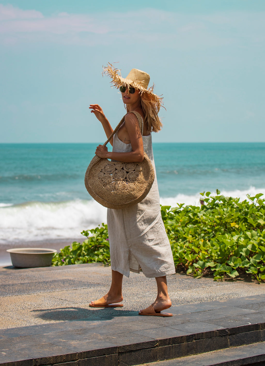 Pearl Large Round Bag
