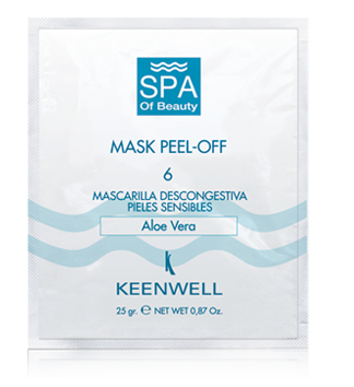 "Peel Off ""Sensitive Skin Decongestive Mask"" N6 (12 St.)"