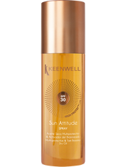 """SUN ATTITUDE"" SPRAY MULTI-PROTECTIVE TAN BOOSTER DRY OIL SPF 30 150 ML"