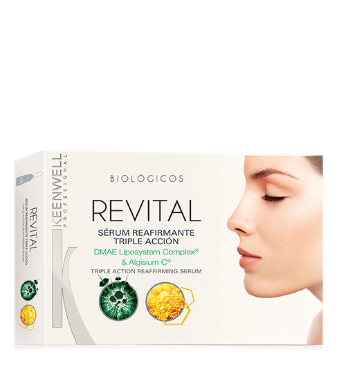 """BIOLOGICS"" REVITAL TRIPLE ACTION REAFFIRMING SERUM"