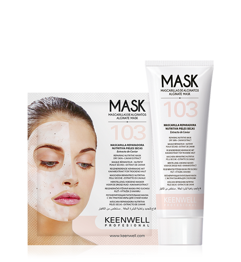 """Alginate Mask"" NOURISHING FACE MASK FOR DRY SKIN"