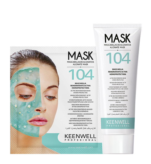 """Alginate Mask"" ACTIVE RE-HYDRATING FACE MASK (9 ANW.)"