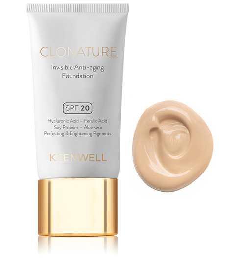 Clonature - Invisible Anti-aging Foundation
