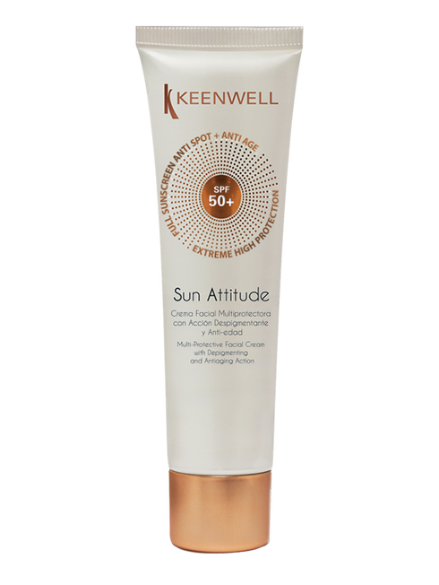 """Sun Attitude"" Multi-Protective Facial Cream with Depigmenting and Antiaging Action SPF50+ 50 ML"