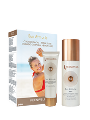 """SUN ATTITUDE PACKS"" Multi-Protective Facial Cream with Depigmenting and Antiaging Action SPF50+ + SPRAY MULTI-PROTECTIVE FLUID EMULSION SPF 30"