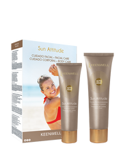 """SUN ATTITUDE PACKS"" Self- Tanning Facial Cream + Self- Tanning Body Cream"