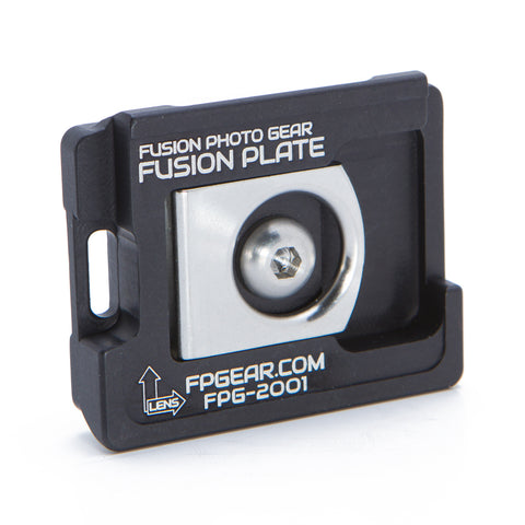 Manfrotto Compatible Fusion Plate – Black