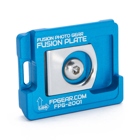 Manfrotto Compatible Fusion Plate – Blue
