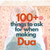 100+ Things To Ask For When Making Dua