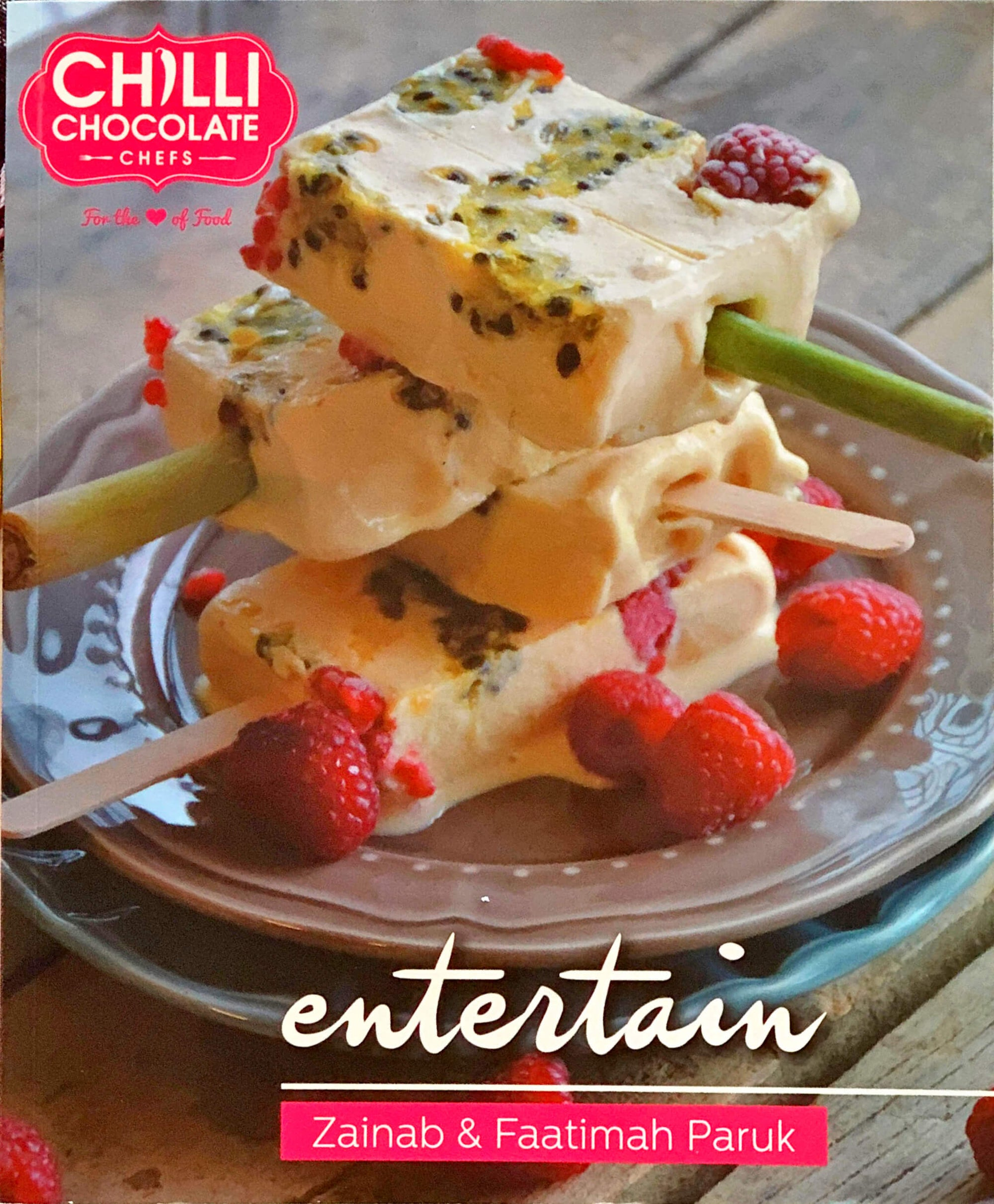 Entertain Recipe Book - Chilli Chocolate Chefs