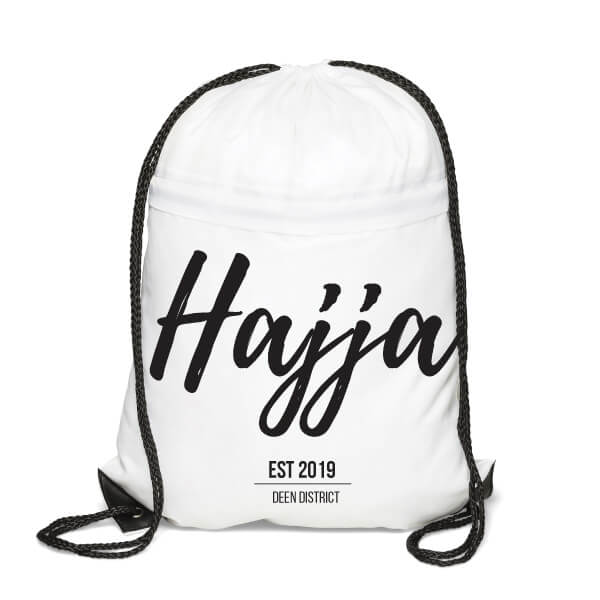 Hajj Drawstring Backpack - For her